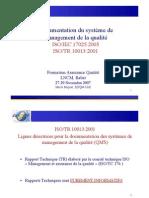 Documentation Du SMQ