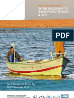 Scientific Field Survey Report for the Development of Marine Protected Areas in Libya