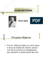 PRIVACIÓN MATERNA