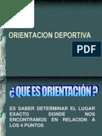 ORIENTACION DEPORTIVA