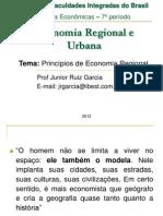 Aula 1.1 - Principios de Economia Regional