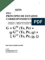 UNA EXTENSION DEL PRINCIPIO DE ESTADOS CORRESPONDIENTES