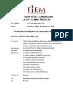 5º Encontro do Fórum Iberoamericano de Entidades Médicas