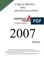 Georgia Power. Electrical Service & Metering Installations.blueBook[1]
