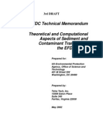 EFDC Theory & Tech Aspects of Sed Trans (2003 05)