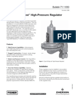 Type 630 Big JoeÆ  High pressure regulator