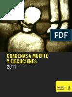 CONDENAS A MUERTE Y EJECUCIONES EN 2011