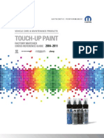 2010-2004 Touch Up Paint Catalog