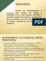 Control Presupuestal