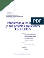 conociendo la escoliosis
