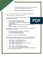 Proc Buffer Sistema de Archivos
