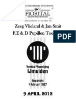 vv IJmuiden Zeeg Vlieland Toernooi Programmaboekje 2012