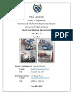 Lab Manual MECH2118 2011