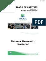 Conteudo 1 Sistema Financeiro Nacional