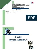 Impacto Ambiental Da Atividade Offshore (Prof. Daniel Loureiro)