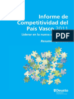 Informe Competitividad del País Vasco 2011 (Es)/  Competitiveness Report of the Basque Country 2011 (Spanish)/ EAEko Lehiakortasunaren Txostena 2011 (Es)