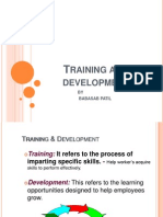 Training and Development Ppt @ Bec Doms Bagalkot Mba
