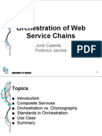 GFM3 Orchestration of Web Services - Small Presentation