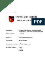 Financial Management - Assignment