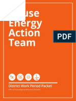 House Energy Action Team - District Work Period Packet