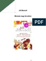 Mansell Miranda Nagy Tevedese