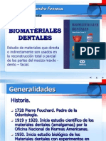Materiales Dentales I y II. Temas (2)