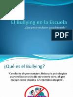 El Bullying en La Escuela