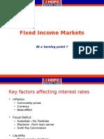 Fixed Income Markets - November 2008