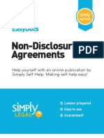 Preview Nondisclosure Agreements