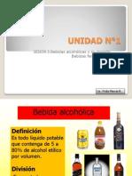 5.- Bebidas alcohólicas y su división