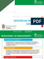 Modulo 4.1 Gestión de proyectos Colciencias