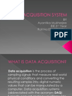 Data Acquisition System Ppt