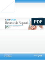 Live Chat Effectiveness 2012-V5