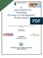 Retailingm Report 2 Nd Sem
