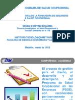 Diseño del Programa de Salud Ocupacional (GoNaBe) 2012