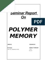 Polymer Memory