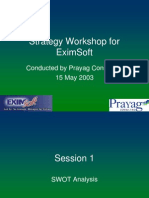 Growth Workshop for EximSoft