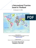 Modelling International Tourism Demand in Thailand E-research IMF Published