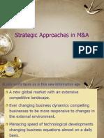 Strategic Approaches in M&A