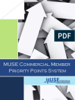 MUSE Priority Points