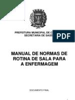 Manual Rotinas Sala