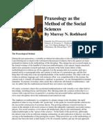 Praxeology as the Method of the Social Sciences_ Murray N Rothbard