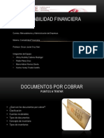 Documentos Por Cobrar e Inventarios