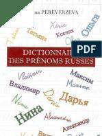 Dictionnairedes prénomsrusse