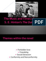 Sample_The Music and Times of the Outsiders