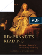 Golahny - Rembrandt's Reading ~ the Artist's Bookshelf of Ancient Poetry and History