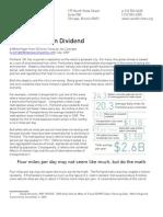 Portlands Green Dividend Report