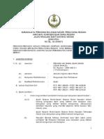 Jawatan Kosong Di Kerajaan Negeri Perak - Mac 2012