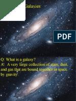 Galaxies Notes