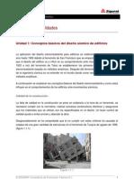 Conceptos básicos del diseño sísmico de edificios